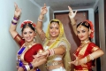 Sudha Chandran with Aditi Bhagwat and Rajeshwari
