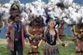 Rajini with Aishwarya Rai in Machu Picchu, Peru