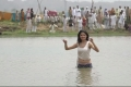 Anushka Comes Out of the Pond