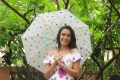 Hrishitaa Bhatt enjoying her rainy day