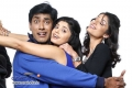 Monish, Bhavana Rao and Kanchan in Kannada Movie Money Honey Shani