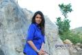 Sanghavi in Blue Dress