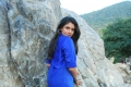 Sanghavi in Blue Dress
