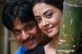 Arjun Sarja and Surveen Chawla in Kannada Movie Abhimanyu