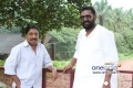 Sreenivasan and Lal in Malayalam Movie Kannadi Talkies