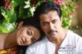 Surveen Chawla and Arjun Sarja in Kannada Movie Abhimanyu
