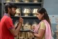 Dhanush and Nazriya Nazim Pics from Tamil Movie Naiyandi