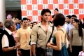 Hrithik Roshan and Priyanka Chopra on the sets of film Krrish 3