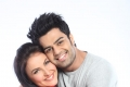 Manish Paul hugs Elli Avram still from film Mickey Virus