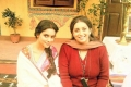 Asin and Smriti Irani on the sets of film Mere Apne