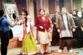 Asin, Smriti Irani and Rishi Kapoor on the sets of film Mere Apne