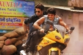 Abhishek and Uday Chopra bike stunt still from film Dhoom 3