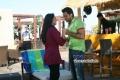Hansika Motwani and Karthi still from film Biriyani