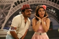 Karthi and Hansika Motwani still from Biriyani Movie