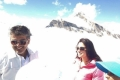 Ajith Kumar and Tamanna Bhatia on the sets of film Veeram