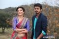 Kajal Aggarwal and Vijay still from film Jilla
