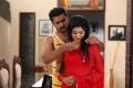 Oviya and Prasanna still from film Pulivaal