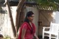 Sri Divya on the sets of film Veera Dheera Sooran