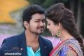 Vijay and Kajal Aggarwal still from film Jilla