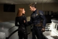 Scarlett Johansson and Chris Evans still from Captain America The Winter Soldier