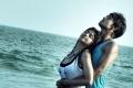 Mrudhula Basker and Nakul still from film Vallinam