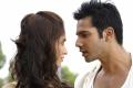 Ileana D'Cruz and Varun Dhawan still from film Main Tera Hero