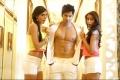 Nargis Fakhri, Varun Dhawan and Ileana D'Cruz still from Main Tera Hero