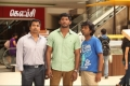 Sunder Ramu and Vishal still from Naan Sigappu Manithan