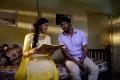 Vishal and Lakshmi Menon still from Naan Sigappu Manithan