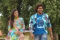 Nikki Galrani and Chiranjeevi Sarja in Kannada Movie Ajith