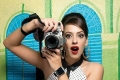 Hazel Keech Photoshoot For Exhibit Magazine
