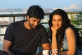 Naveen Chandra and Salony Luthra still from Sarabam Movie