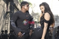 Duniya Vijay and Soundarya Jayamala in Simhadri