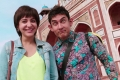 Anushka Sharma and Aamir Khan in PK (PeeKay)