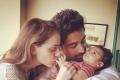 Rannvijay Singh with his Baby