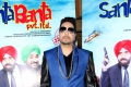 Mika Singh On the Set of Movie Santa Banta Pvt Ltd