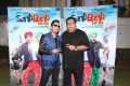 Mika Singh on the Set of Santa Banta Pvt Ltd