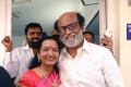 Rajinijkanth with Vijay mother at Marriage FunctionRajinikanth Spotted at Marriage Function.