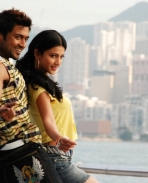 Surya and Shruthi Hassan