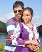 Sathish Ninasam and Subhiksha in Film Anjada Gandu