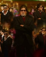 Amitabh Bachchan still from Come Party With the Bhoothnath song