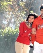 Aindrita Ray and Prem Kumar in Kannada Movie Athi Aparoopa