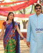 Bhumika Chawla and Jagapati Babu still from April Fool