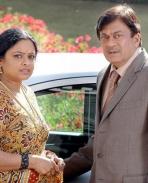 Padmaja Rao and Ananth Nag in Kannada Movie Athi Aparoopa