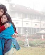 Prem Kumar and Aindrita Ray in Kannada Movie Athi Aparoopa