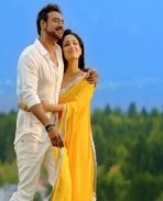 Ajay Devgan and Yami Gautam in Action Jackson