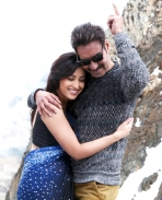 Yami Gautam and Ajay Devgn in Action Jackson