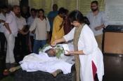 Veteran Actress Rita Bhaduri  Funeral Photos
