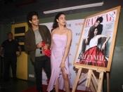 Janhvi Kapoor And Ishaan Khatter For The Launch Of Harper's Bazaar