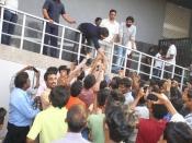RX100 Movie Team Success Tour At Guntur Swamy Theater